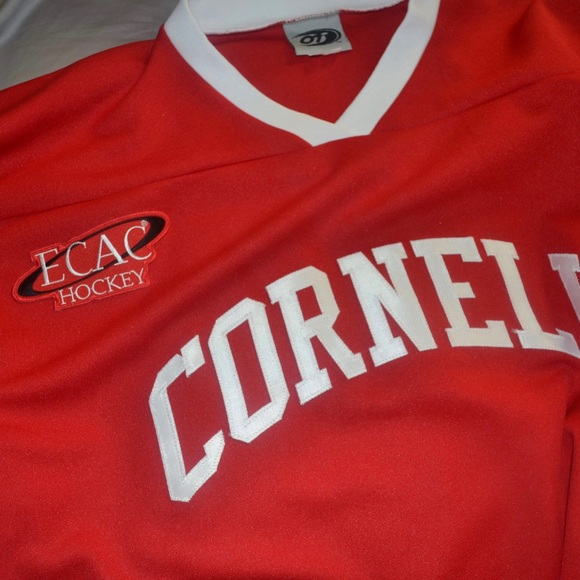 100% authentic 124d4 64a86 Cornell University Hockey Jersey